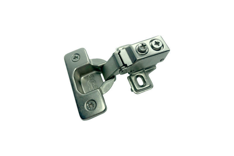 110 Degree, Short Arm, Face Frame Clip Cushion Hinge
