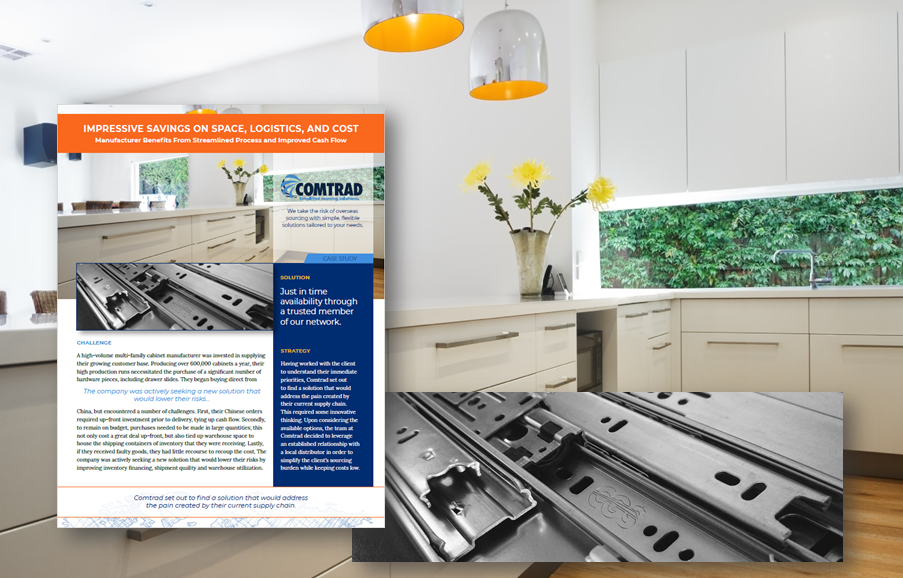 Comtrad case study: Manufacturer Benefits From Streamlined Process and Improved Cash Flow