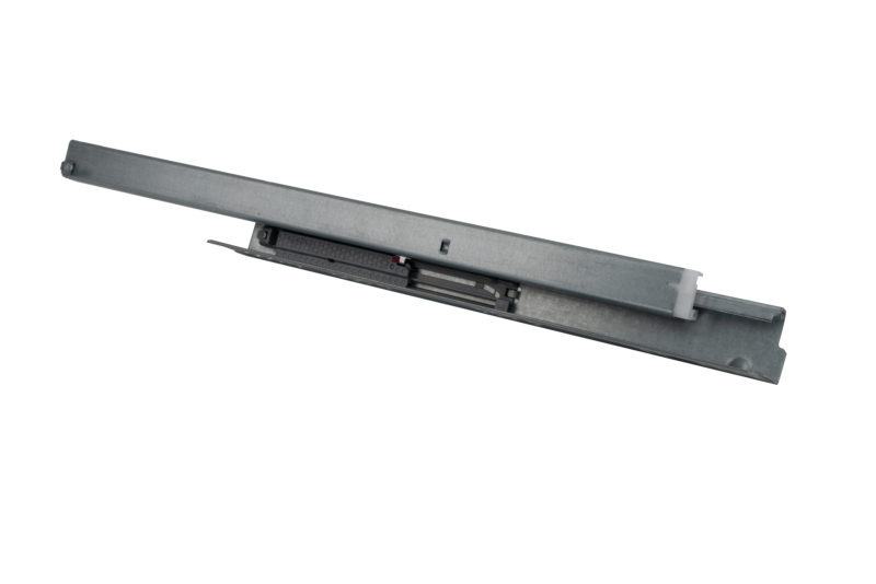 Full-Extension, Push-To-Open Undermount Frameless Slides (Front Bracket not included)