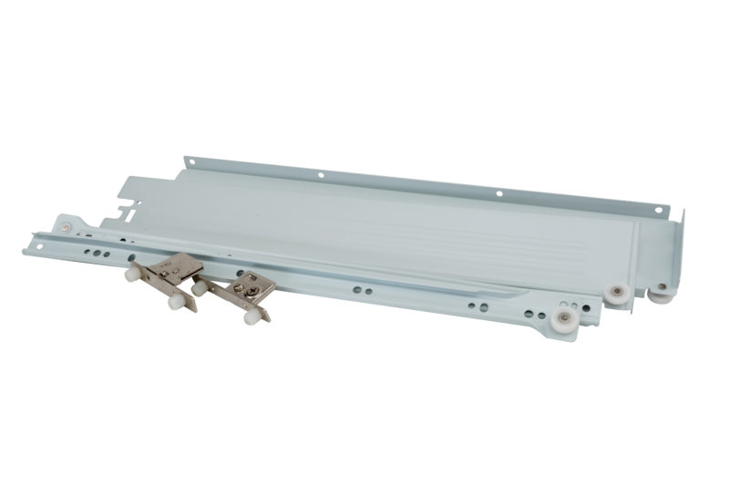 CGS Metal Single Wall Drawer Systems with Cam Adjustable Front Locking Brackets