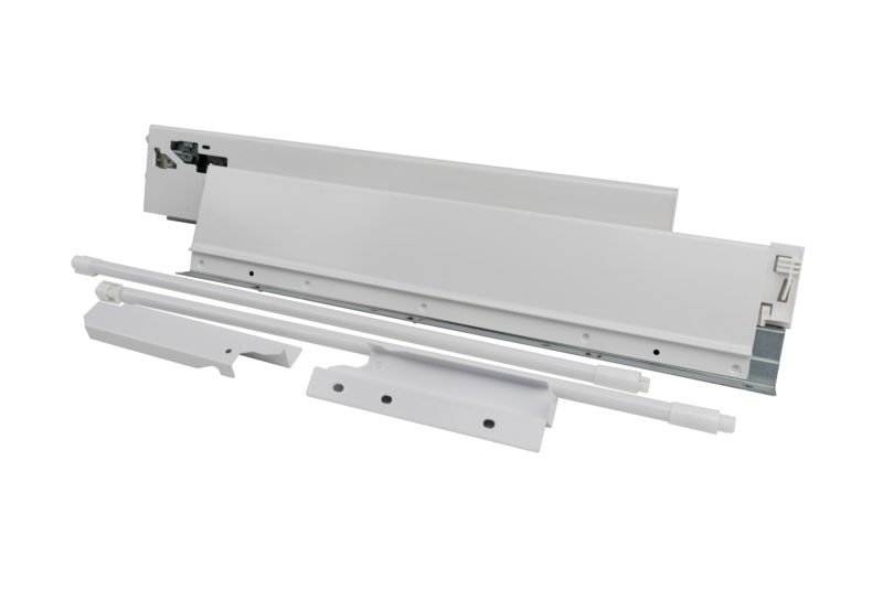 CGS Metal Double Wall Classic Drawer Systems with Integrated Soft-Close Under Mount Slides